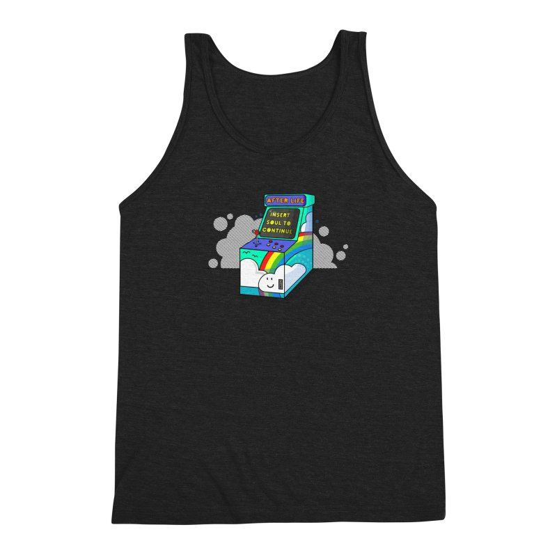 AFTERLIFE is not a game Men's Triblend Tank by jumpy's Artist Shop