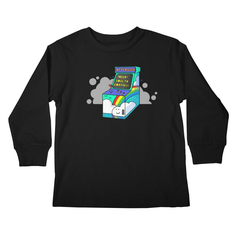 AFTERLIFE is not a game Kids Longsleeve T-Shirt by jumpy's Artist Shop
