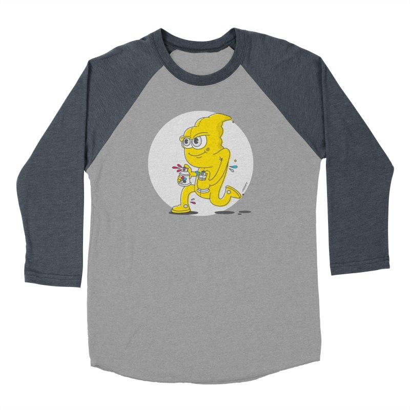 Graffiti Bandit Men's Baseball Triblend T-Shirt by jumpy's Artist Shop