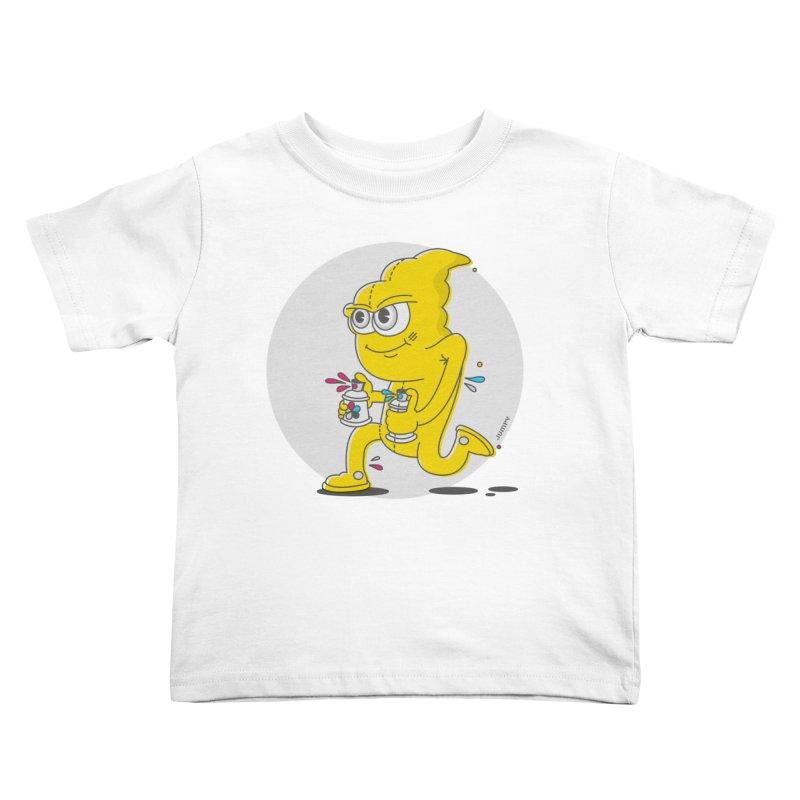 Graffiti Bandit Kids Toddler T-Shirt by jumpy's Artist Shop