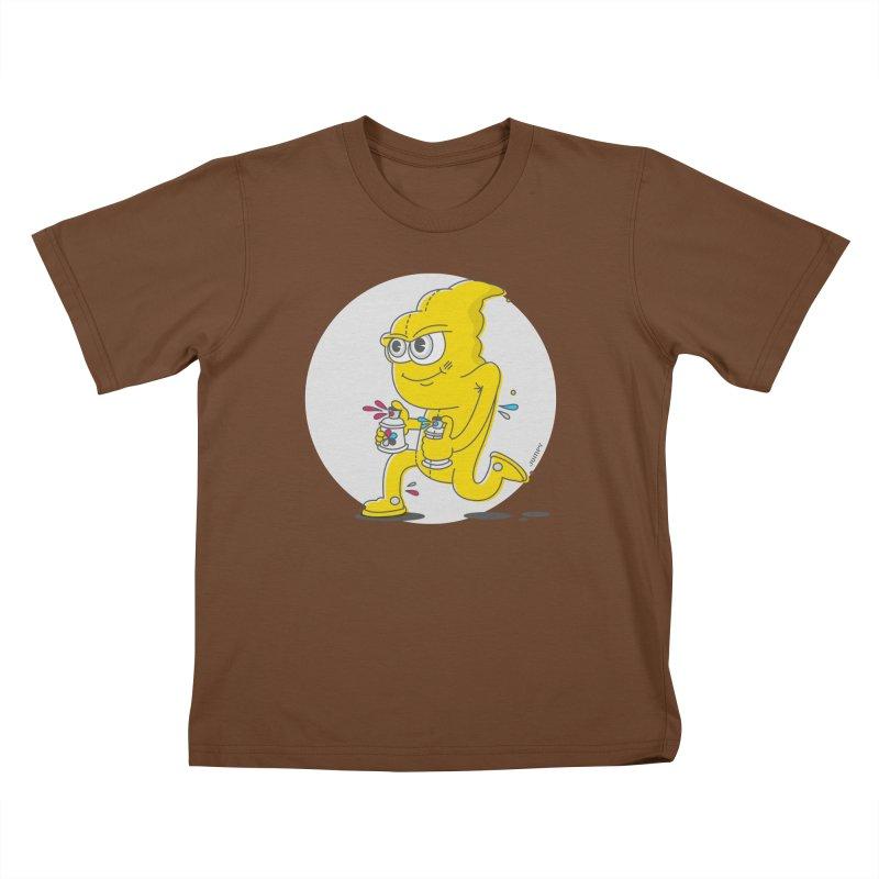Graffiti Bandit Kids T-Shirt by jumpy's Artist Shop