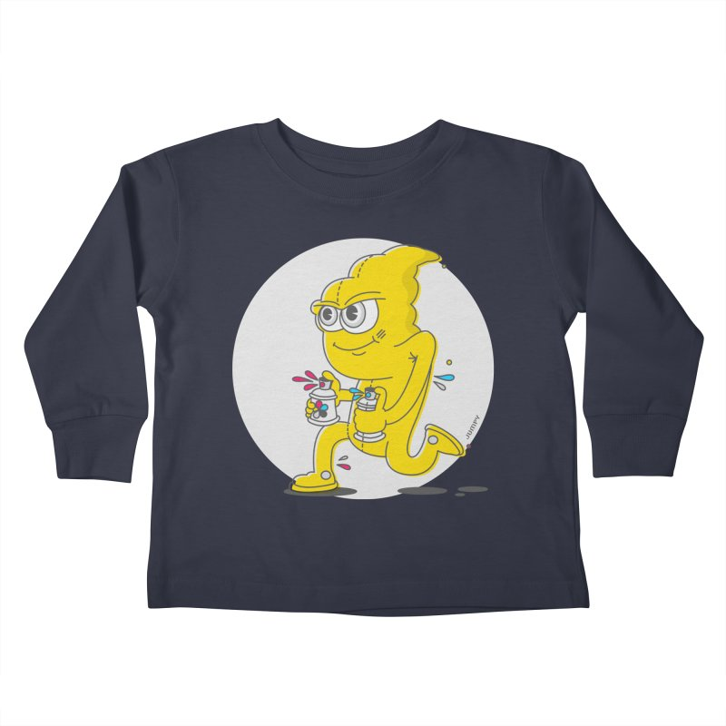 Graffiti Bandit Kids Toddler Longsleeve T-Shirt by jumpy's Artist Shop
