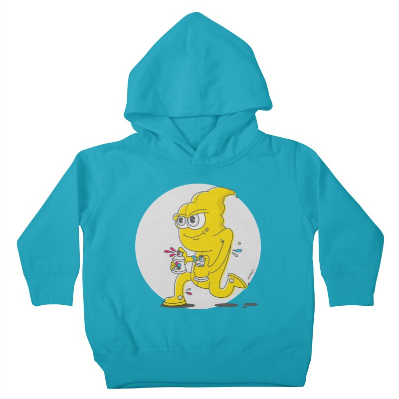 Graffiti Bandit Kids Toddler Pullover Hoody by jumpy's Artist Shop