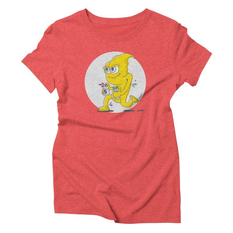 Graffiti Bandit Women's Triblend T-shirt by jumpy's Artist Shop