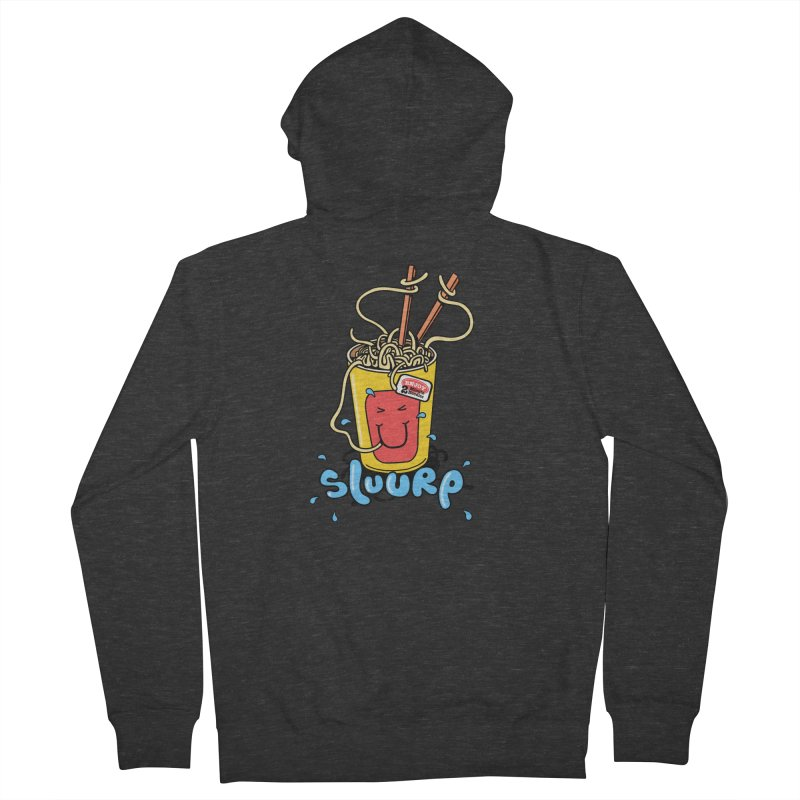 Noodle Brain Women's Zip-Up Hoody by jumpy's Artist Shop