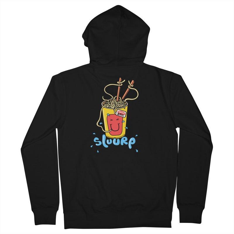 Noodle Brain Women's Zip-Up Hoody by jumpy's Artist Shop