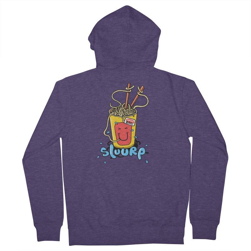 Noodle Brain Men's Zip-Up Hoody by jumpy's Artist Shop