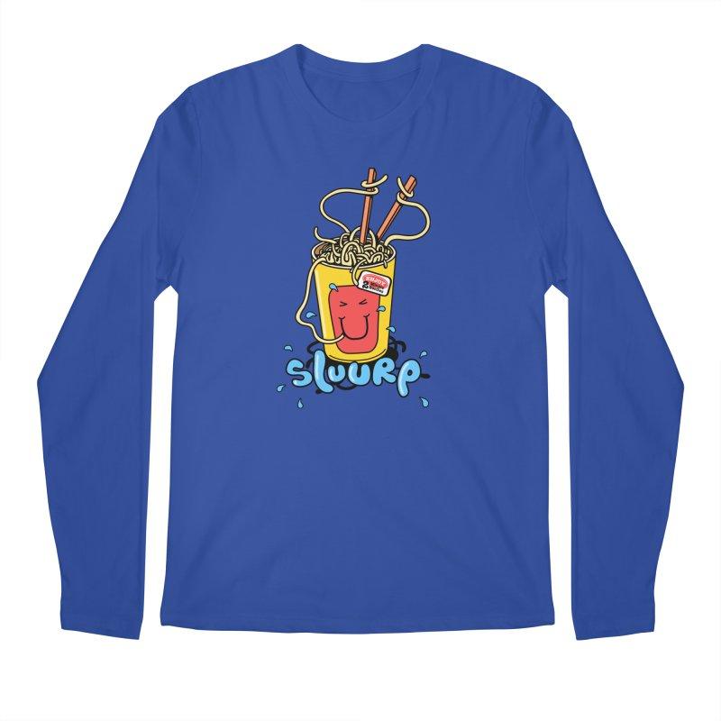 Noodle Brain Men's Longsleeve T-Shirt by jumpy's Artist Shop