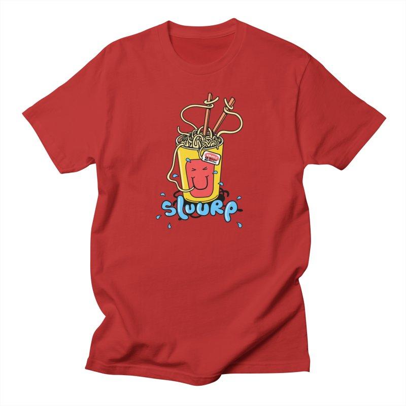 Noodle Brain Men's T-shirt by jumpy's Artist Shop
