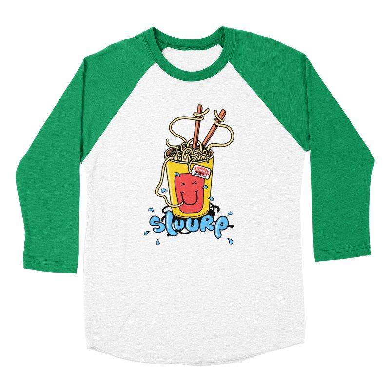 Noodle Brain Women's Baseball Triblend T-Shirt by jumpy's Artist Shop