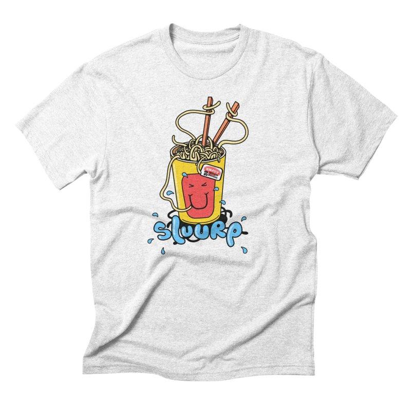 Noodle Brain Men's Triblend T-shirt by jumpy's Artist Shop