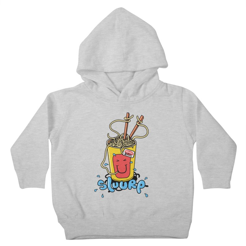 Noodle Brain Kids Toddler Pullover Hoody by jumpy's Artist Shop