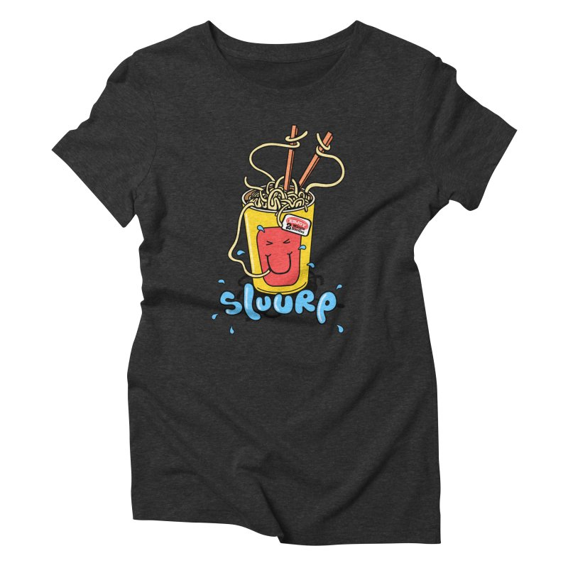 Noodle Brain Women's Triblend T-shirt by jumpy's Artist Shop