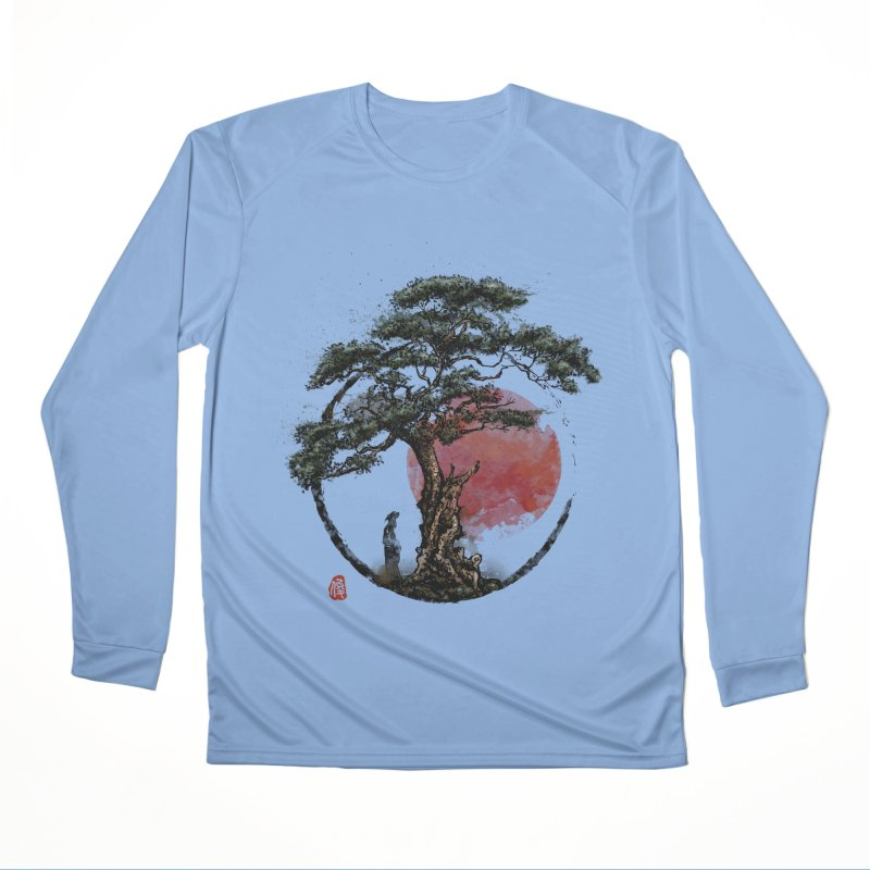 Sunset in Huangshan Men's Longsleeve T-Shirt by Jun087
