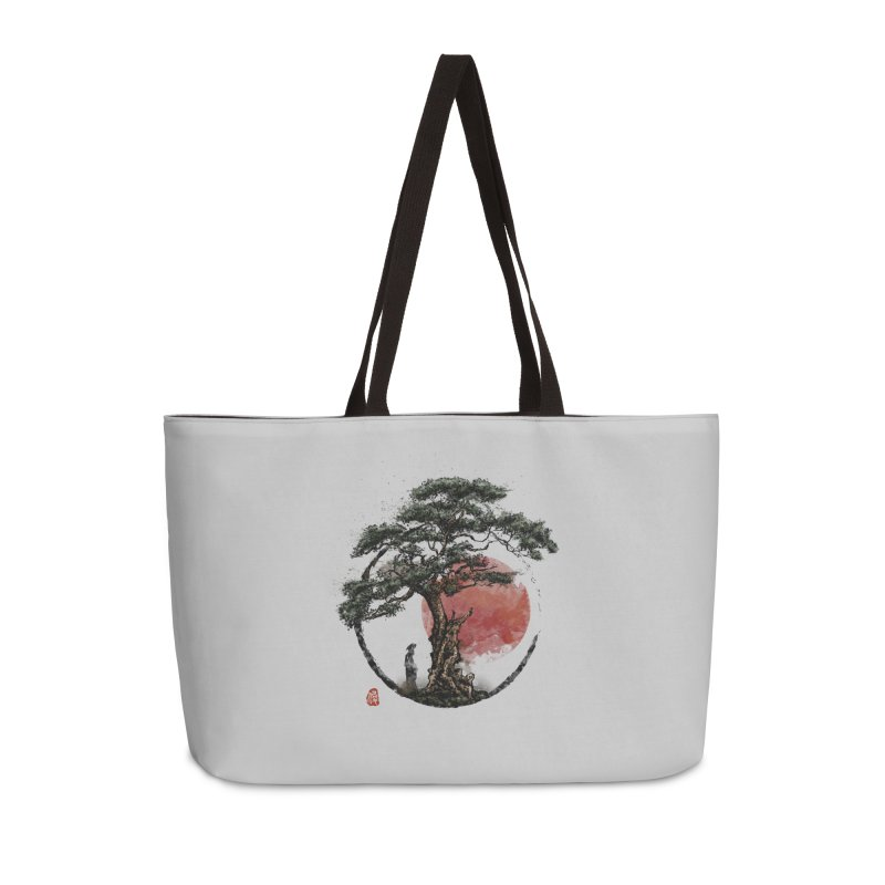 Sunset in Huangshan Accessories Bag by Jun087