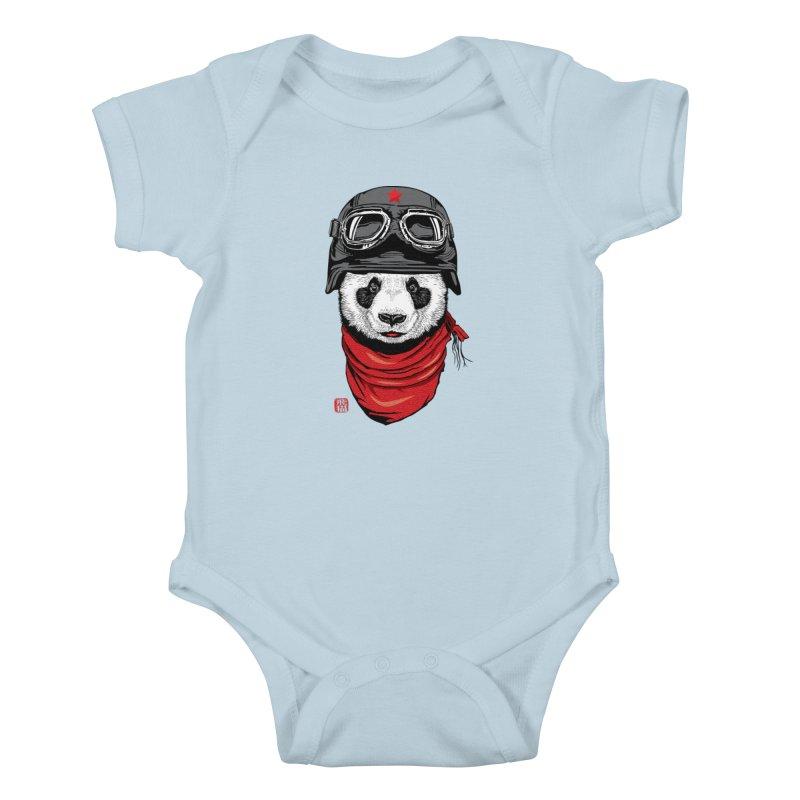 The Happy Adventurer Kids Baby Bodysuit by Jun087
