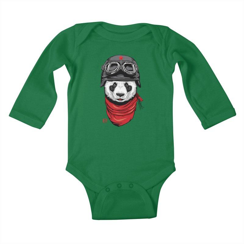 The Happy Adventurer Kids Baby Longsleeve Bodysuit by Jun087