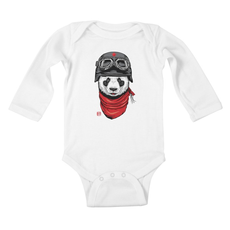 The Happy Adventurer Kids Baby Longsleeve Bodysuit by Jun087