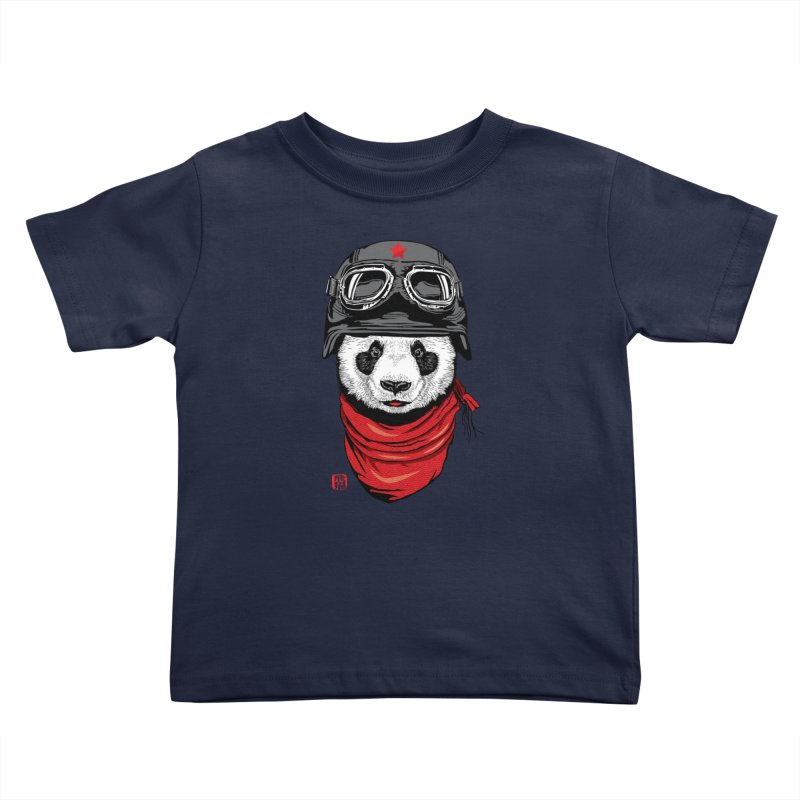 The Happy Adventurer Kids Toddler T-Shirt by Jun087