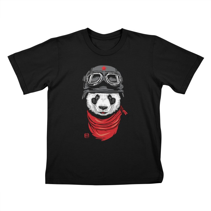 The Happy Adventurer Kids T-shirt by Jun087