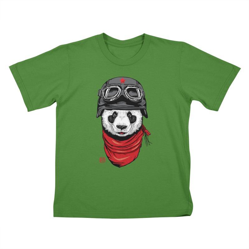 The Happy Adventurer Kids T-Shirt by Jun087