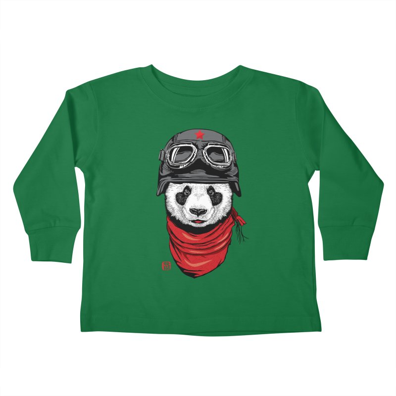 The Happy Adventurer Kids Toddler Longsleeve T-Shirt by Jun087
