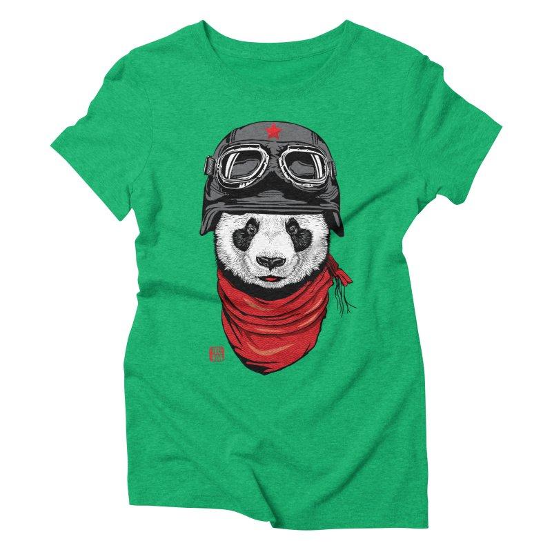 The Happy Adventurer Women's Triblend T-Shirt by Jun087