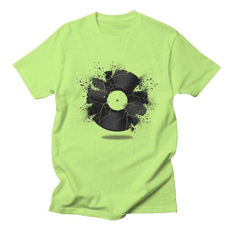 Break The Record Men's T-Shirt by Jun087