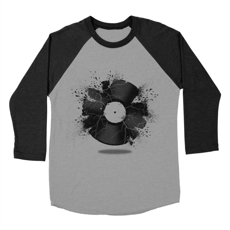 Break The Record Men's Baseball Triblend T-Shirt by Jun087