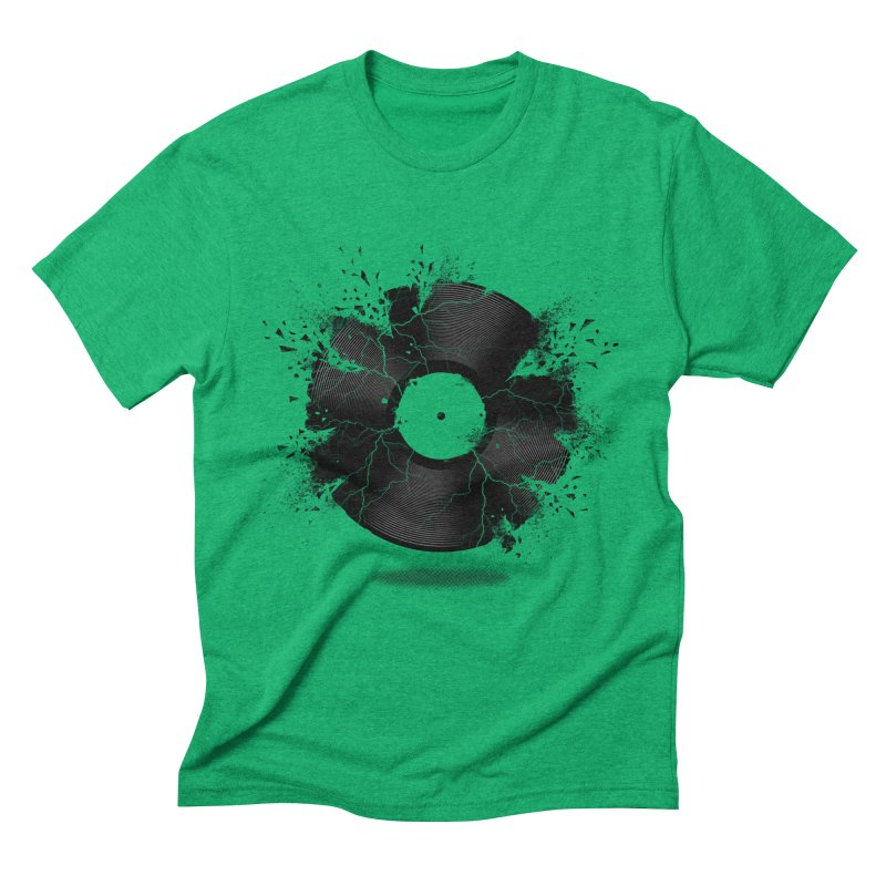 Break The Record Men's Triblend T-shirt by Jun087