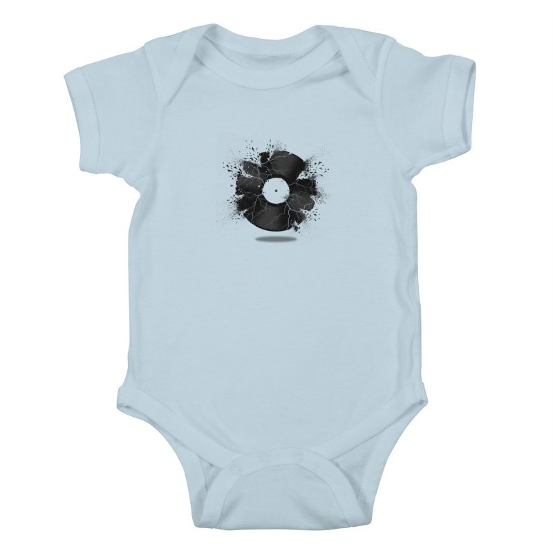 Break The Record Kids Baby Bodysuit by Jun087