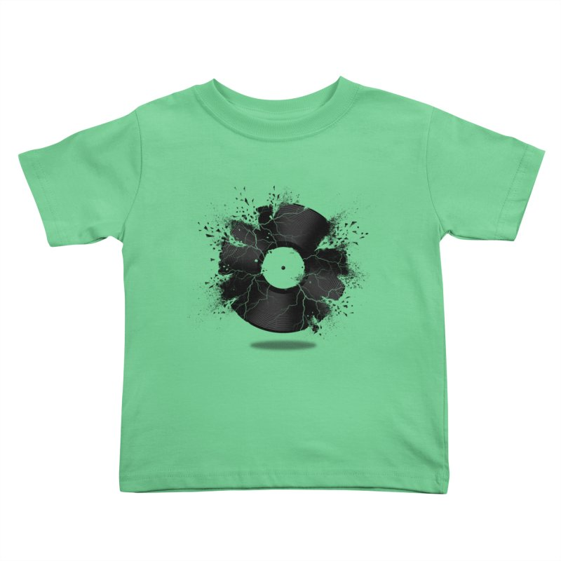 Break The Record Kids Toddler T-Shirt by Jun087