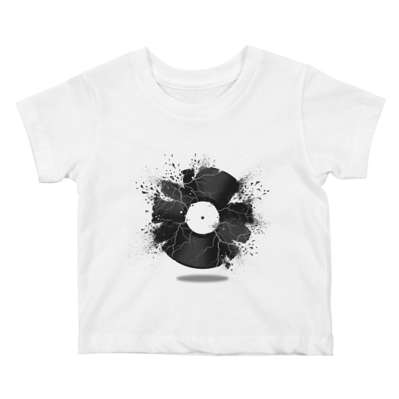 Break The Record Kids Baby T-Shirt by Jun087