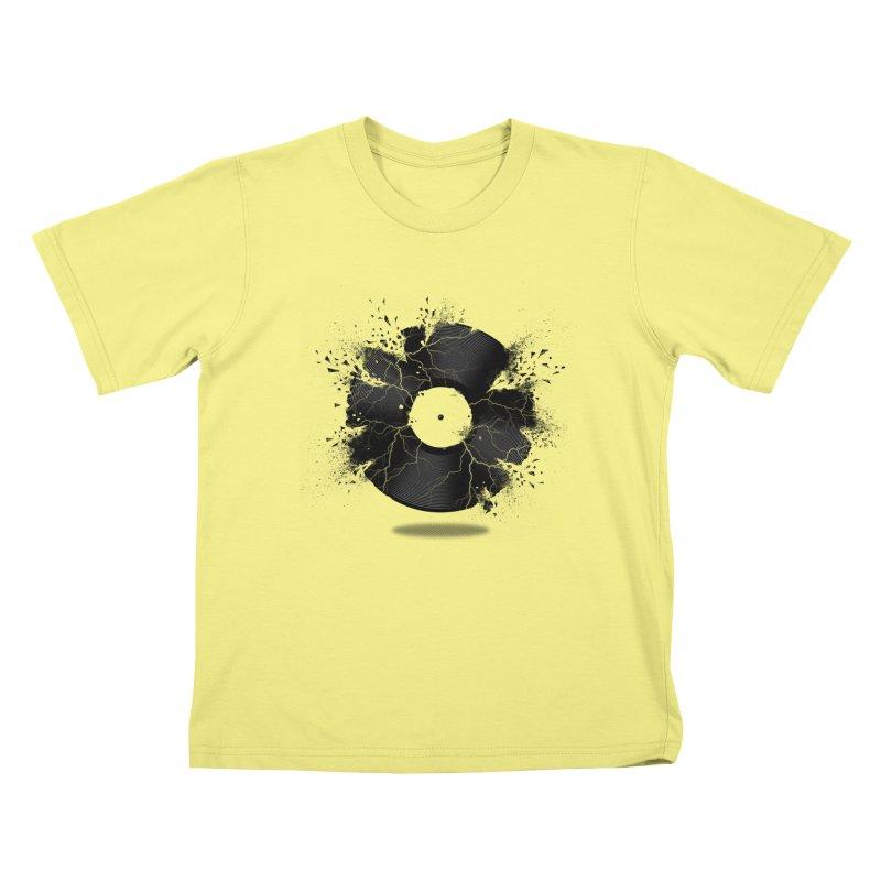 Break The Record Kids T-shirt by Jun087