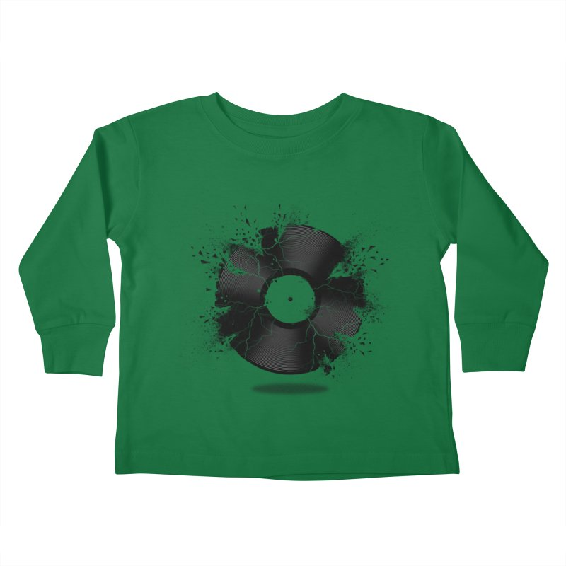 Break The Record Kids Toddler Longsleeve T-Shirt by Jun087