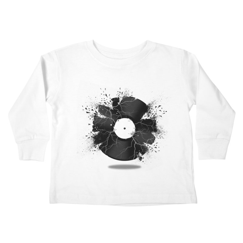 Break The Record Kids Toddler Longsleeve T-Shirt by Jun087