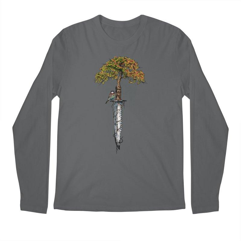 Back to life Men's Longsleeve T-Shirt by Jun087