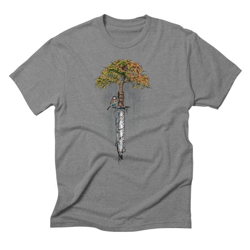 Back to life Men's T-Shirt by Jun087