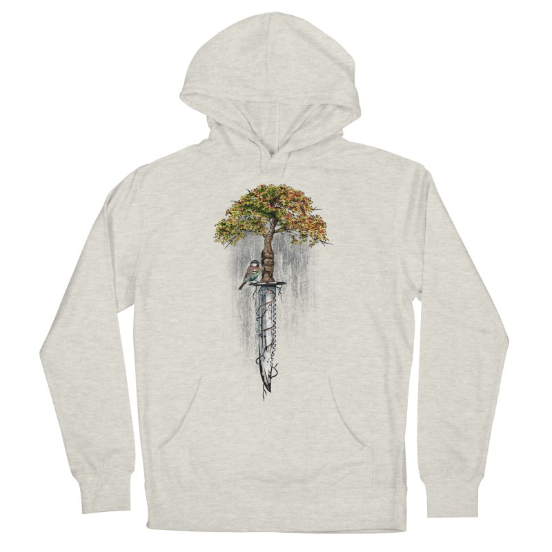 Back to life Men's French Terry Pullover Hoody by Jun087
