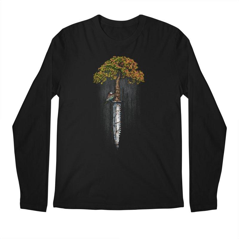 Back to life Men's Regular Longsleeve T-Shirt by Jun087