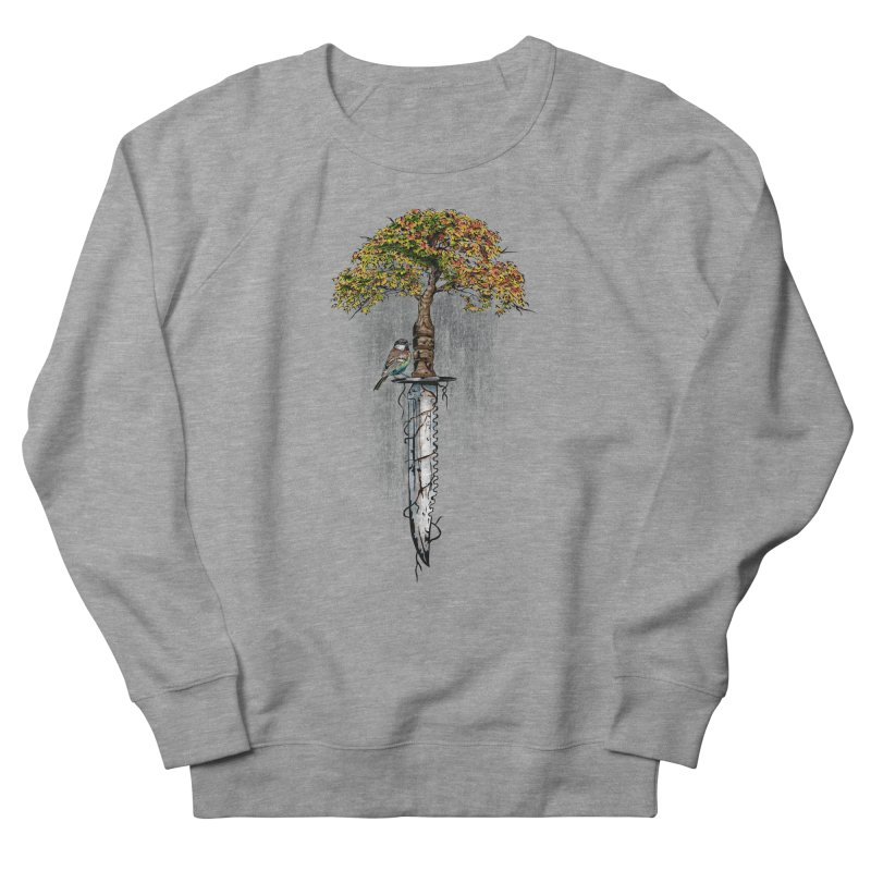Back to life Men's French Terry Sweatshirt by Jun087