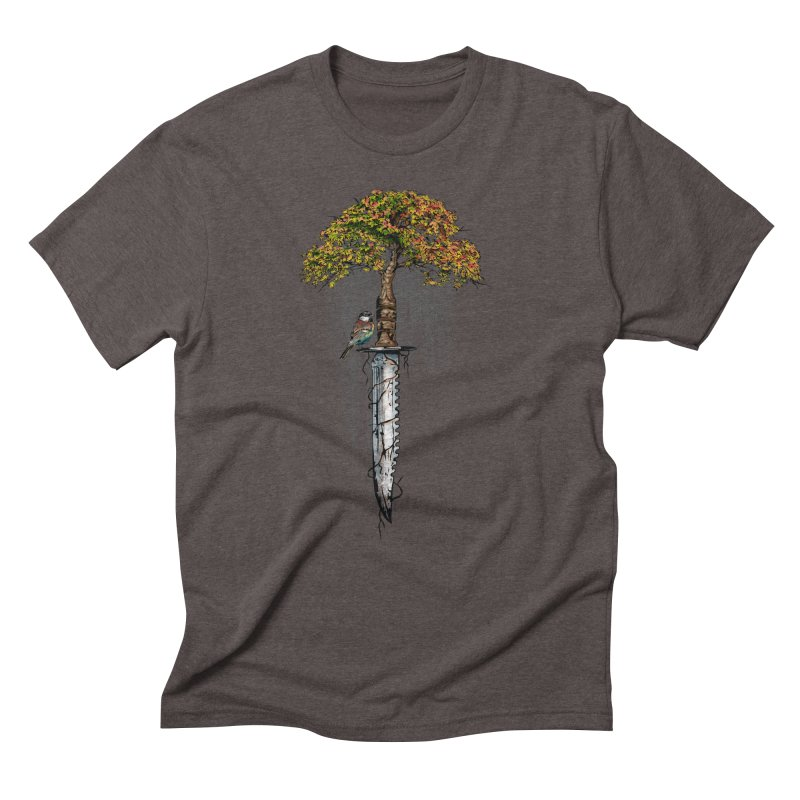 Back to life Men's Triblend T-Shirt by Jun087