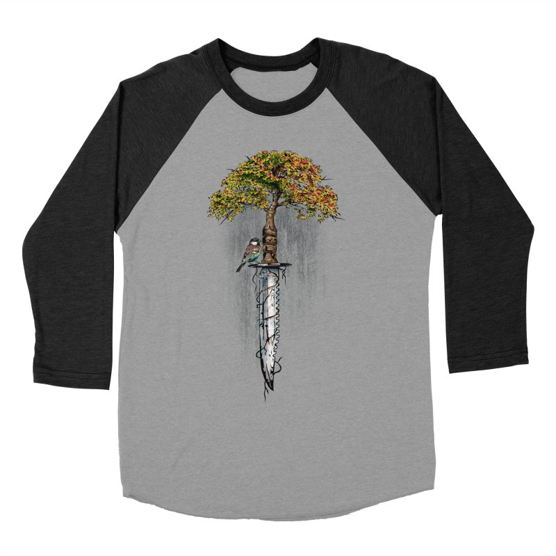 Back to life Men's Baseball Triblend Longsleeve T-Shirt by Jun087