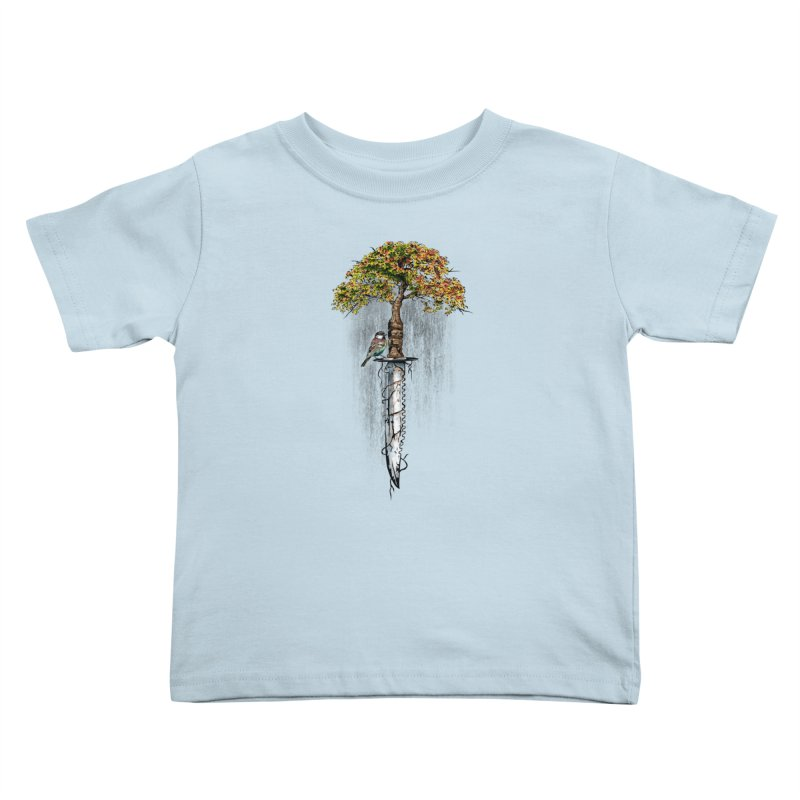 Back to life Kids Toddler T-Shirt by Jun087