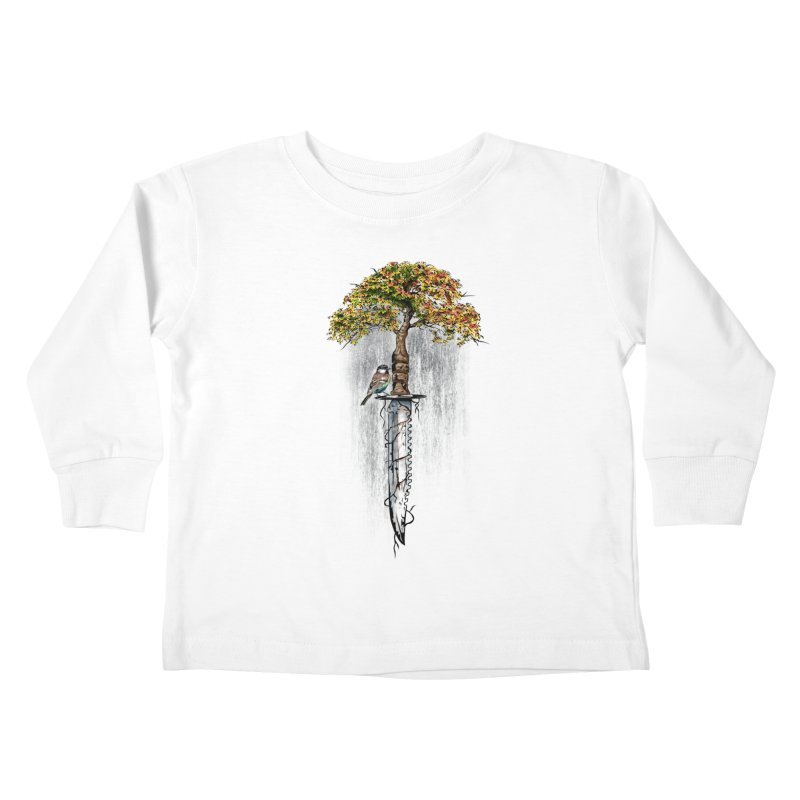Back to life Kids Toddler Longsleeve T-Shirt by Jun087