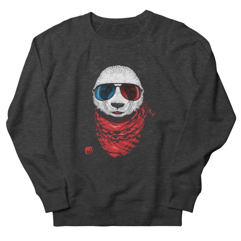 3D Panda Women's Sweatshirt by Jun087
