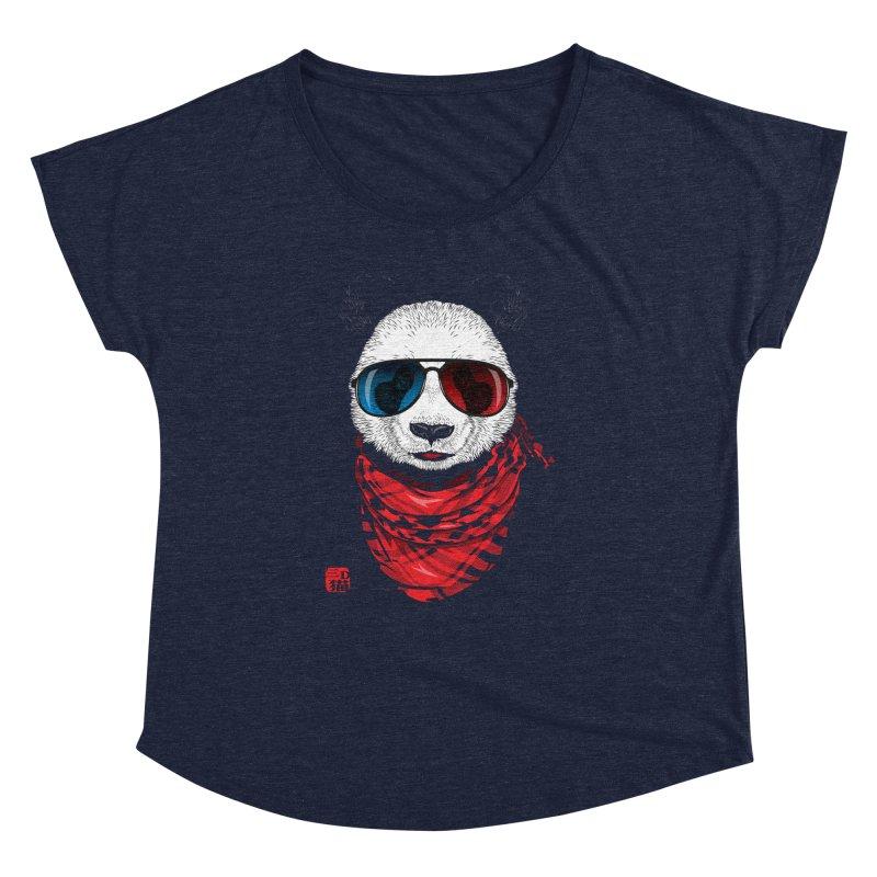 3D Panda Women's Dolman by Jun087