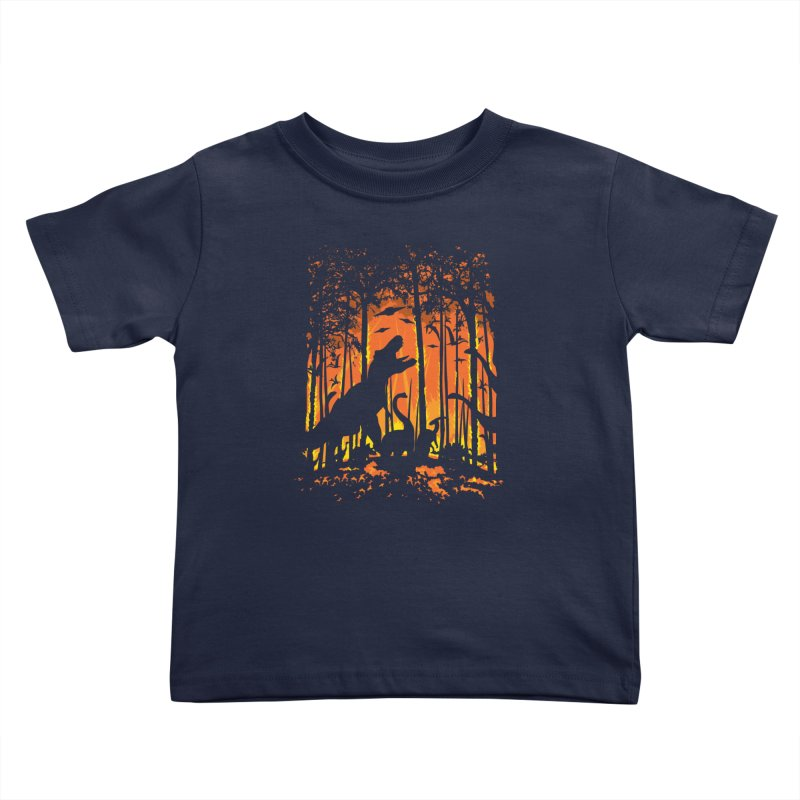 The End Kids Toddler T-Shirt by Jun087
