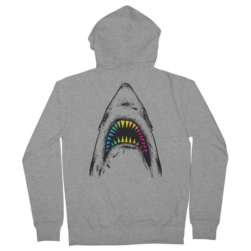 Fancy Sharky Men's Zip-Up Hoody by Jun087
