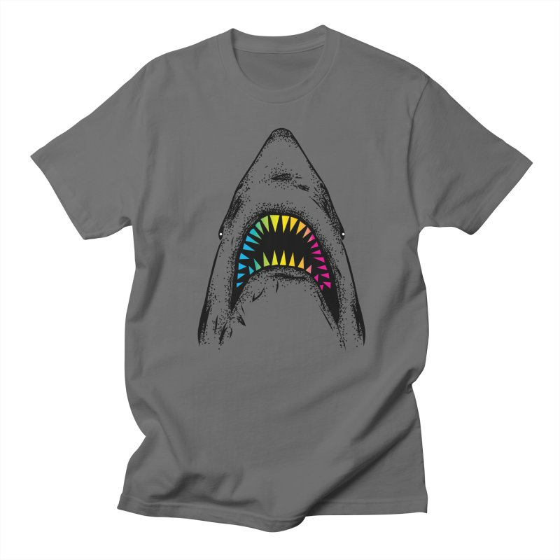 Fancy Sharky Men's T-Shirt by Jun087